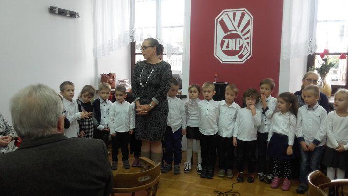 Występ w Związkach Nauczycielstwa Polskiego