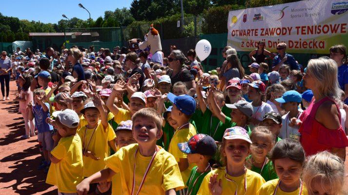 Turniej Tenisowy z okazji Dnia Dziecka