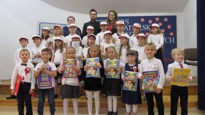 Konkurs recytatorski wierszy patriotycznych w Katolickiej Szkole Podstawowej